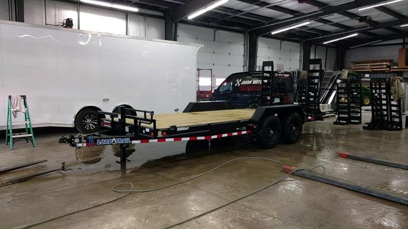 2019 Load Trail 83x18 Open Car / Equipment Trailer....STOCK# LT-183762