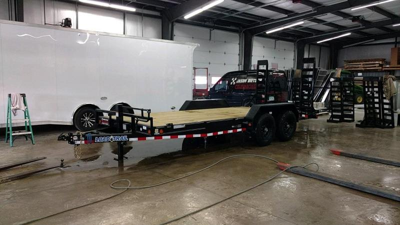 2019 Load Trail 83x18 Open Car / Racing Trailer....STOCK# LT-183762