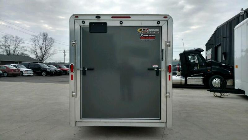 2019 Legend Manufacturing 7x19 DVN EXTRA HEIGHT Enclosed Cargo Trailer... STOCK# 1317358
