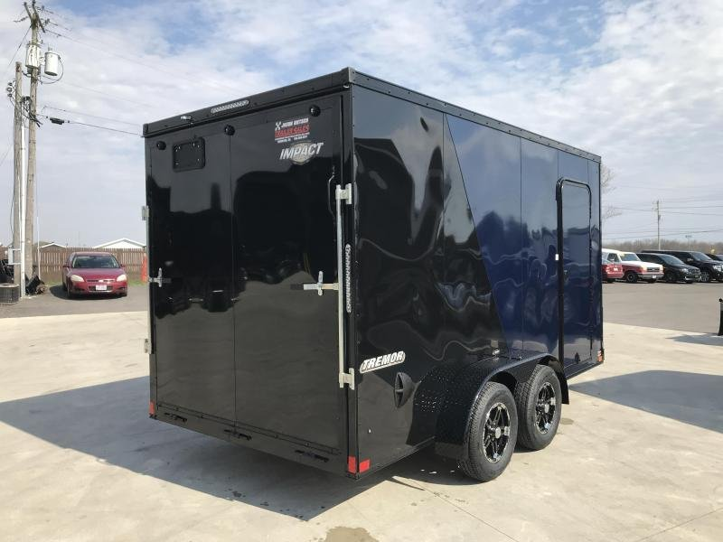2020 Impact Trailers 7x14 EXTRA HEIGHT Enclosed Cargo Trailer....IMP001698