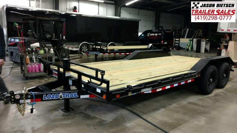 2019 Load Trail 102X20 Tandem Axle Carhauler Car / Equipment Trailer...STOCK# LT-183379