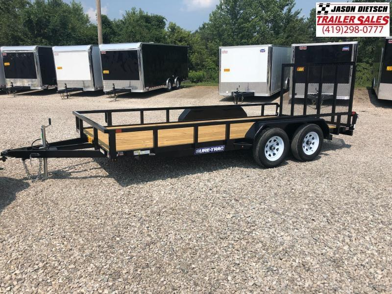 2019 Sure-Trac 7X16 Tube Top Utility....STOCK# ST-243796