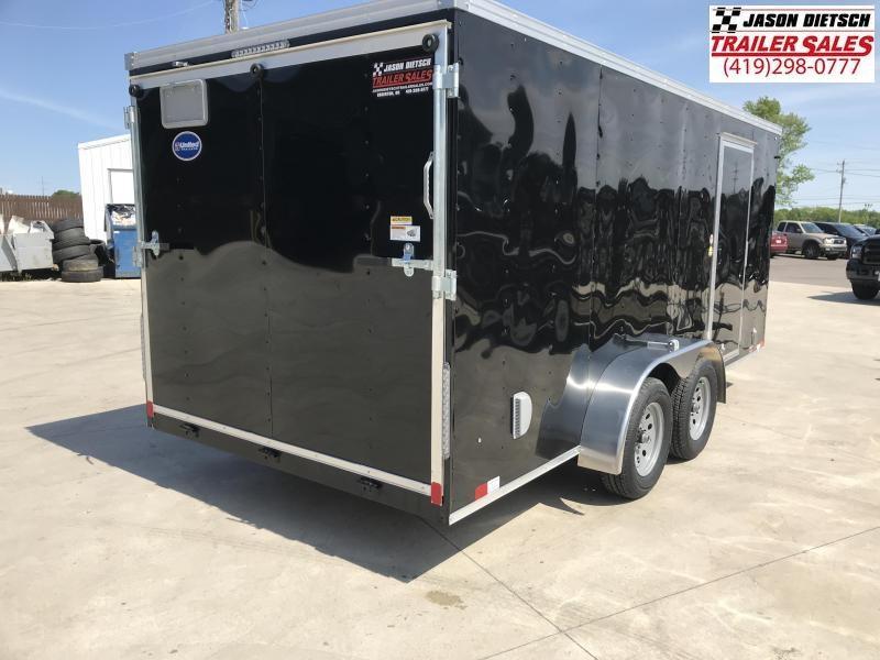 2020 United Trailers XLV 7x16 V-Nose Enclosed Cargo Trailer....Stock# UN-166172