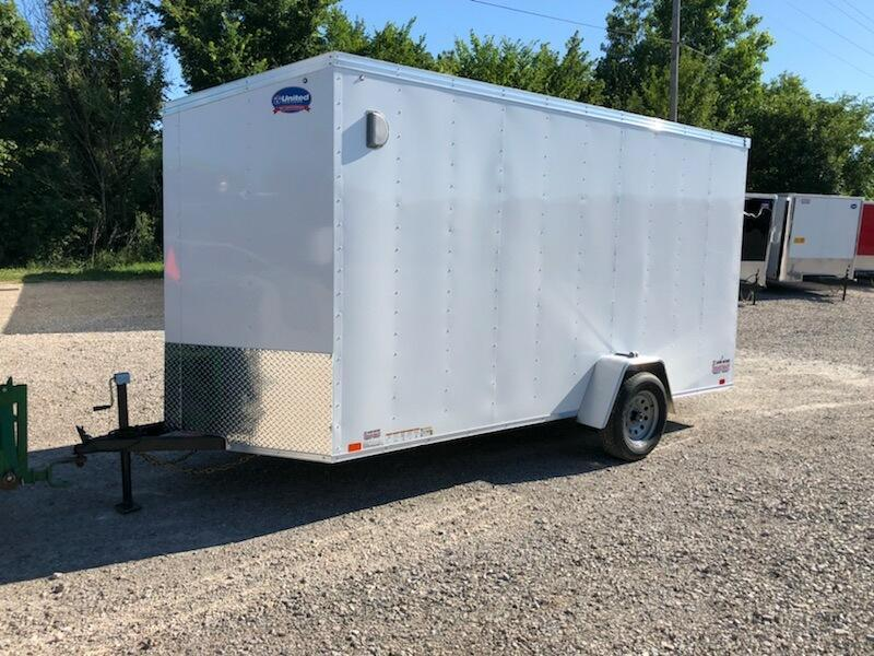 2019 United Trailers XLV-614SA30-S Enclosed Extra Height Cargo Trailer 162753