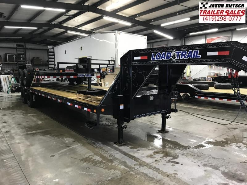 2019 Load Trail 102X32 Tandem Low-pro Gooseneck Equipment Trailer....STOCK# LT-181056