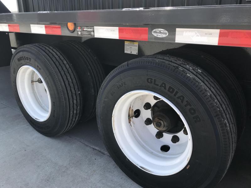 2018 Load Trail 102x28 Gooseneck Equipment Trailer... Stock- 156570