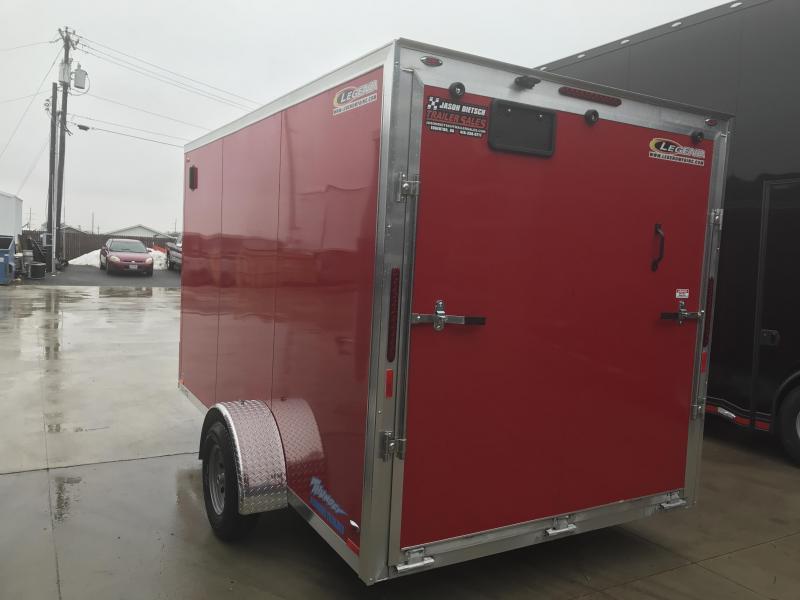 2019 Legend Manufacturing 7X14 TV Enclosed Cargo Trailer....STOCK# LG-1317323