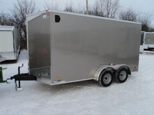 2018 RC Trailer 7x14 Wedge Nose W/Tandem Axle W/Extra Height... STOCK# RC- 3915