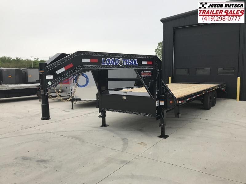 2019 Load Trail 102X25 Tandem Heavy Duty Gooseneck Equipment Trailer....STOCK#LT-7370