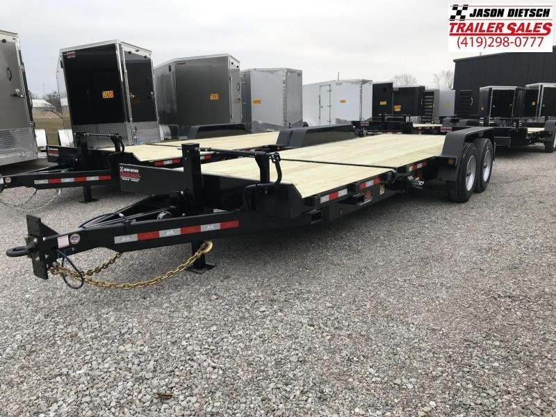 2019 Behnke 83X22 20K TILT Equipment Trailer....STOCK# BB-047898