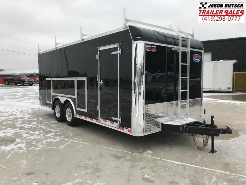 2019 United Trailer UXT 8.5x20 Enclosed Tool Crib Trailer....Stock#UN-166050