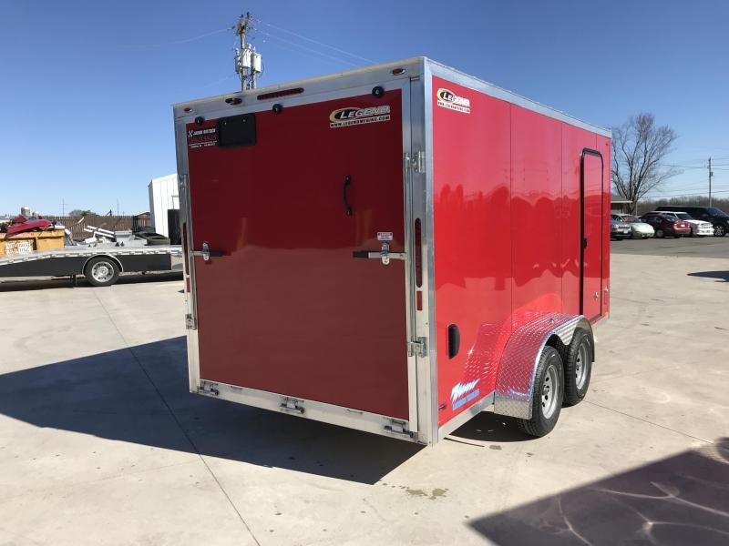 2019 Legend Manufacturing 7X16 TV Enclosed Cargo Trailer....STOCK# LG-1317328