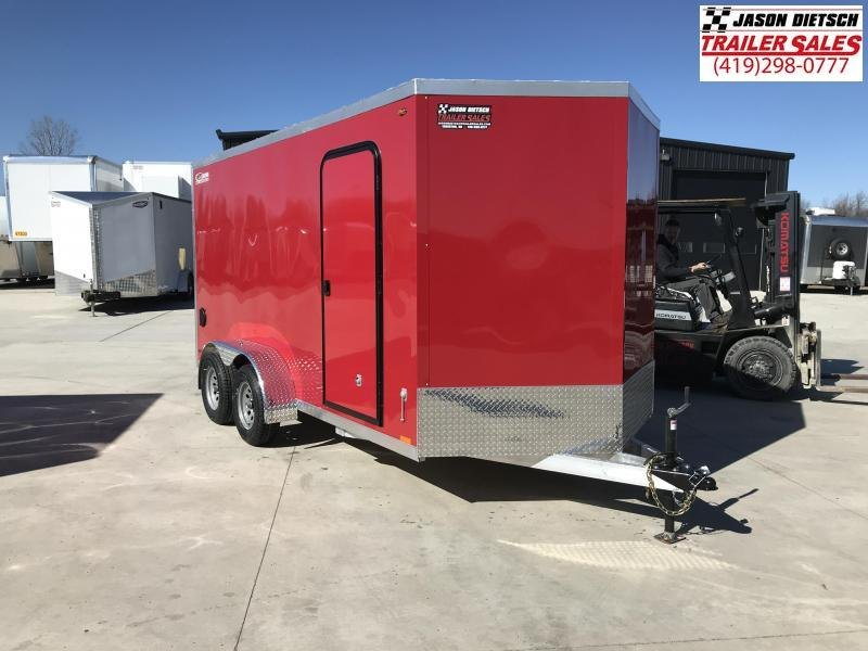 2019 Legend Manufacturing 7X16 TV Enclosed Cargo Trailer....STOCK# LG-1317328