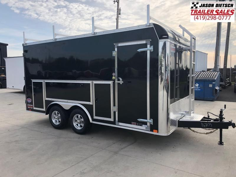 2019 United Trailers UXT 8.5x16 - 5200 lb. Tandem Axle Enclosed Cargo Trailer Stock 162175