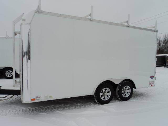 2018 United Trailers UXT 8.5x16 Enclosed Tool Crib Trailer.... Stock 9041