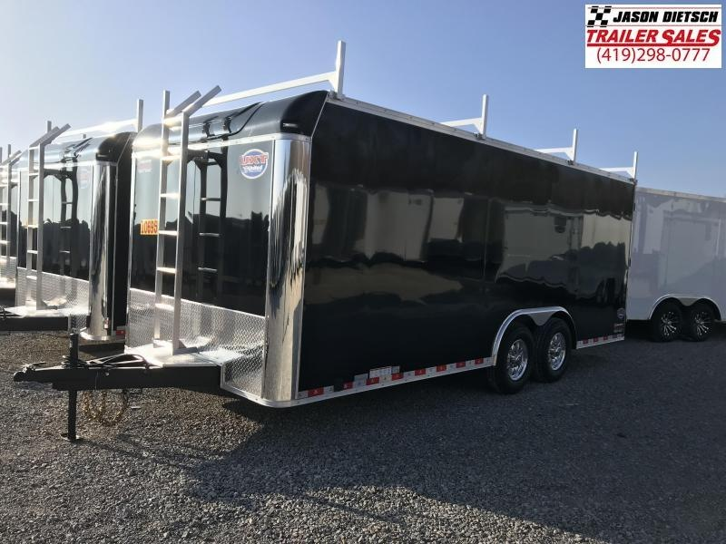 2019 United Trailer UXT 8.5x20 Enclosed Tool Crib Trailer....Stock#UN-166051