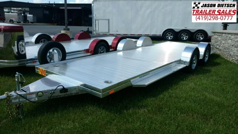 2020 Sundowner 6.9X22 Sunlite Car Trailer.... STOCK# SD-FA8007
