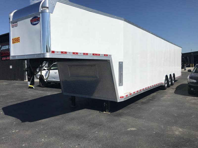 2019 United UXGH 8.5X44 Wide Body Gooseneck Triple Axle Flat Top....Stock# UN-163840
