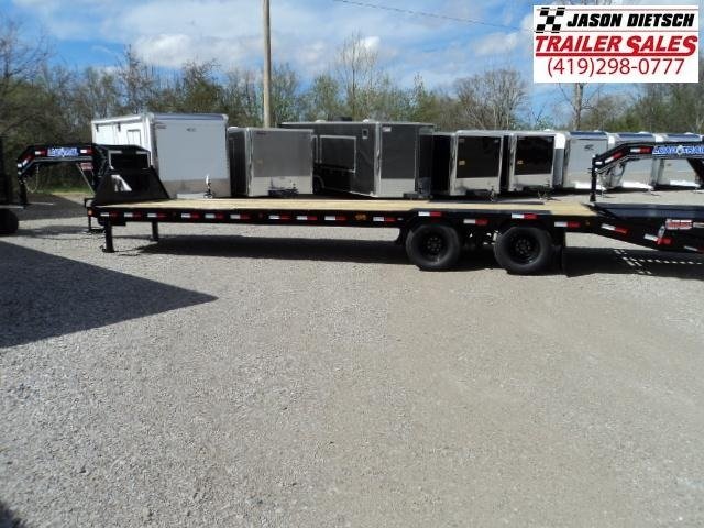 2018 Load Trail 102x32 Low-Pro Tandem Heavy Duty Gooseneck Equipment Trailer... Stock- 164543