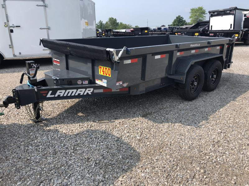 2019 Lamar Trailers 83X14 LOW PRO Dump Trailer....STOCK# LM-069520