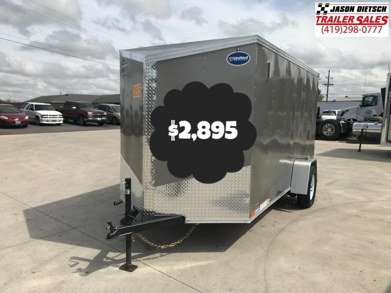 2020 United XLV 6X12 V-Nose Slant Enclosed Cargo Tr....Stock# UN-169901