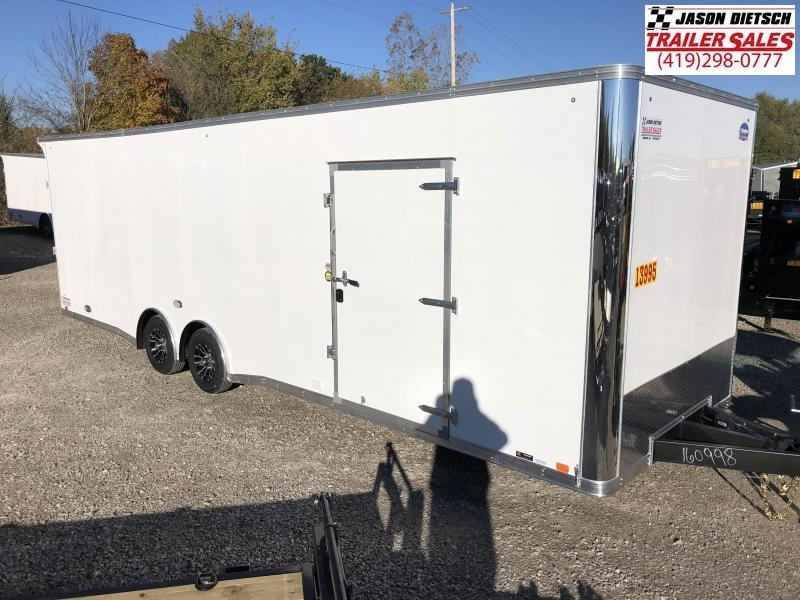 2019 United Trailers XLT 8.5X28 EXTRA HEIGHT Car / Racing Trailer....STOCK# UN-160998