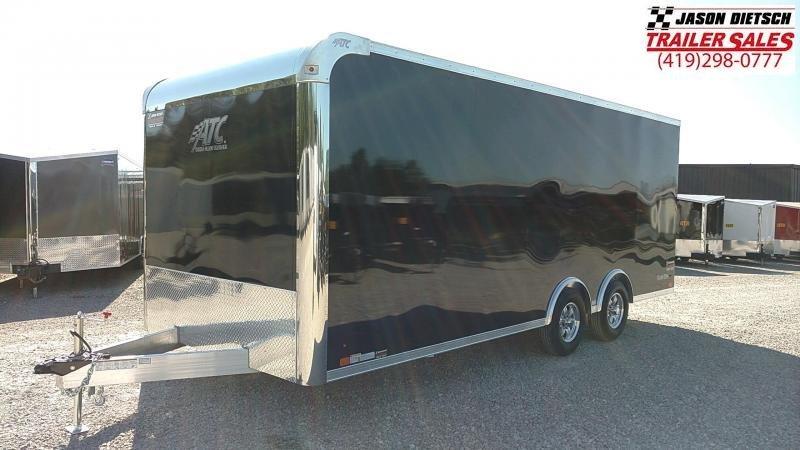 2019 ATC RAVA 8.5X20 Car / Racing Trailer.... STOCK# 215443