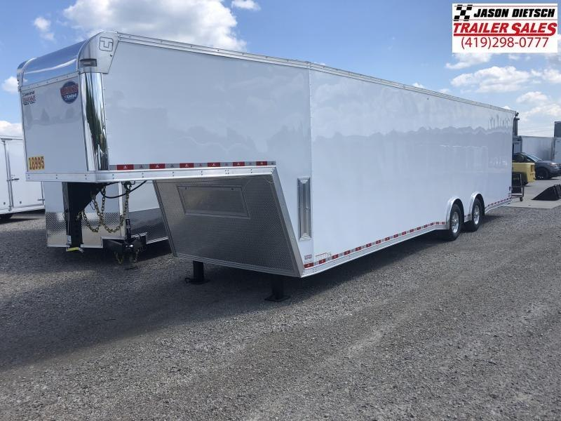 2019 United Trailers 8.5X40 EXTRA HEIGHT Car / Racing Trailer....STOCK # UN-164000