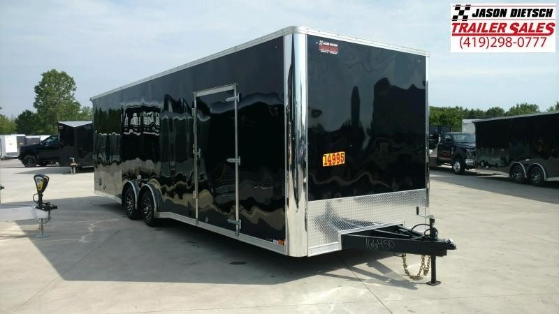 2020 United Trailers XLT 8.5X28 EXTRA HEIGHT Car / Racing Trailer....STOCK# UN-166451