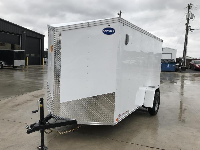 2020 United XLV 6X12 V-Nose Slant Enclosed Cargo Tr....Stock# UN-166136