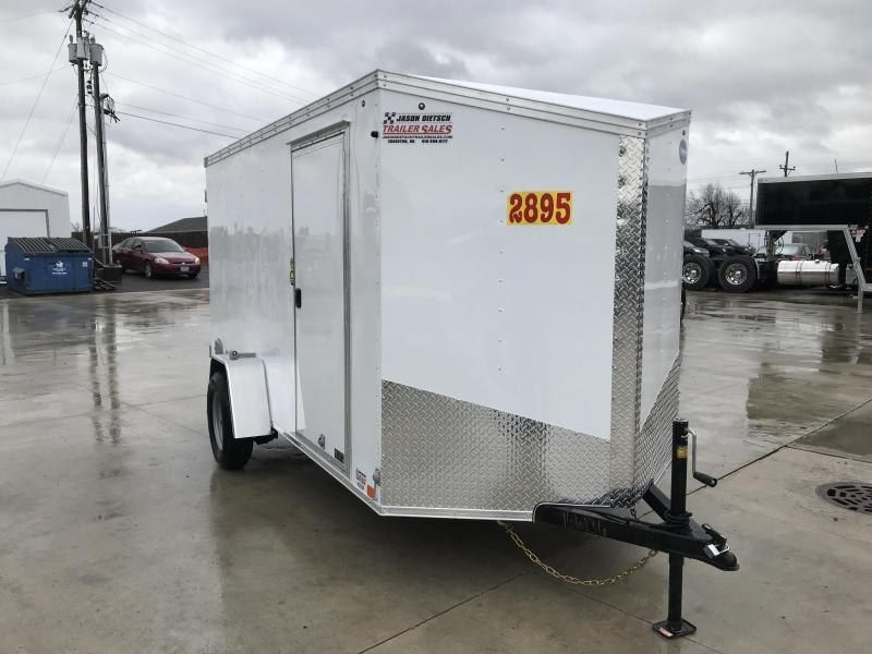 2020 United XLV 6X12 V-Nose Slant Enclosed Cargo Tr....Stock# UN-166136