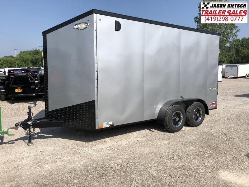 2019 Impact Trailers 7x14 Extra Height Enclosed Cargo Trailer....IMP000852