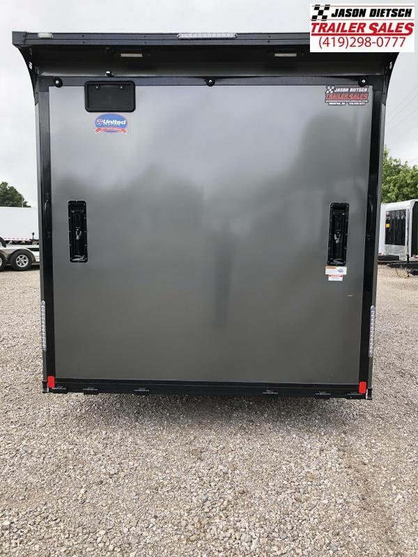 2019 United Trailer GEN 4- 8.5x28 Extra Height Enclosed Race Trailer....Stock#UN-160490