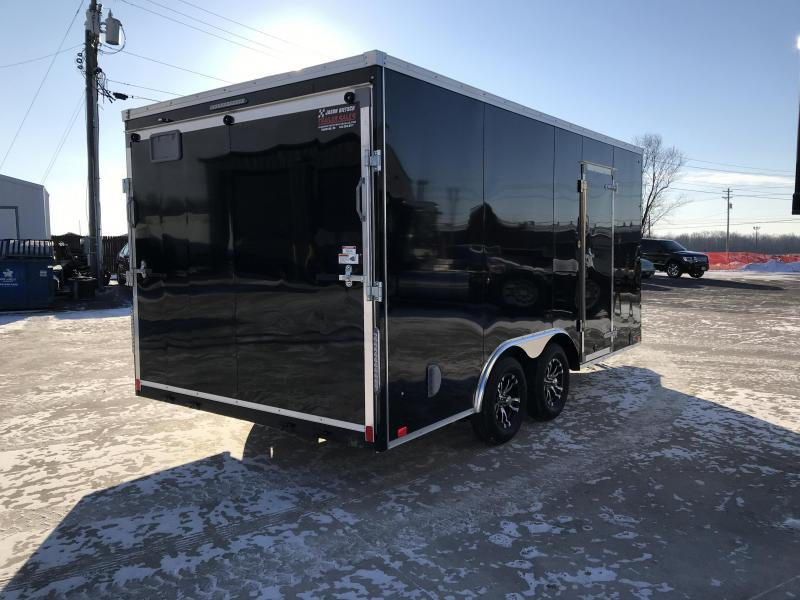 2019 United Trailers XLTV 8.5x19 Wedge-Nose Enclosed Car Hauler....Stock # UN-166606