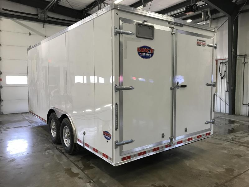 2019 United Trailer UXT 8.5X18 Enclosed Cargo Trailer....Stock# UN-167888