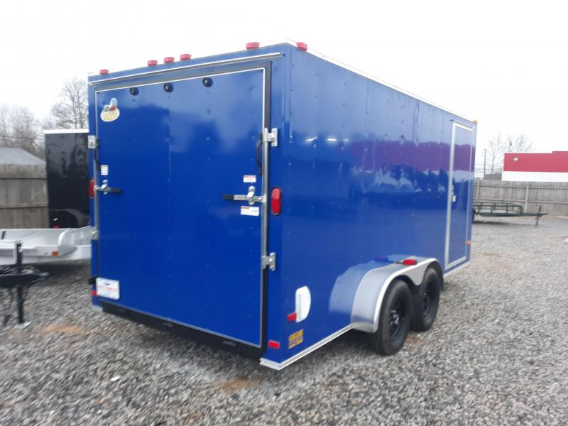 2019 COVERED WAGON 7X16 SILVER
