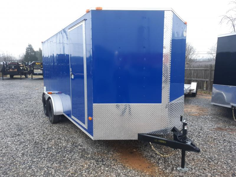 2019 COVERED WAGON 7X16 SILVER in Hazelwood, NC