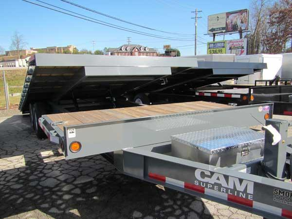 CAM 20 + 4 Full Tilt Equipment Trailer