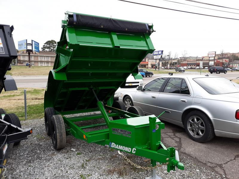 Diamond C 41ED 5 x 10 Dump Trailer Green in Ashburn, VA