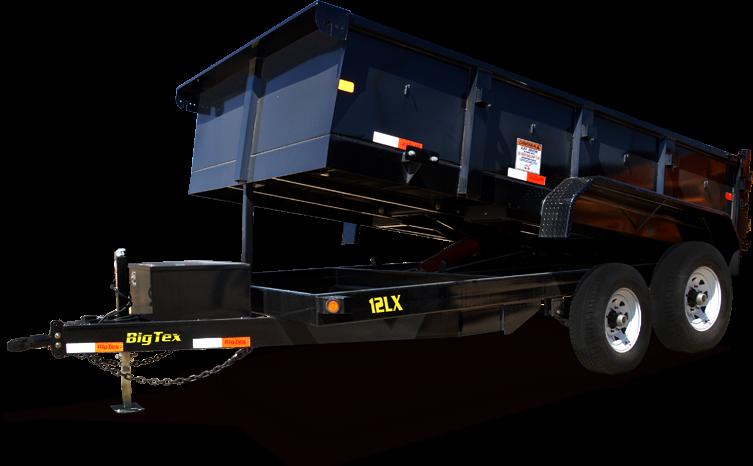 Big Tex 14 LX-12  Dump Trailer
