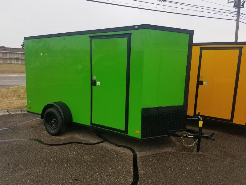 2019 Covered Wagon Trailers 6x12 Enclosed Cargo Trailer in Hazelwood, NC