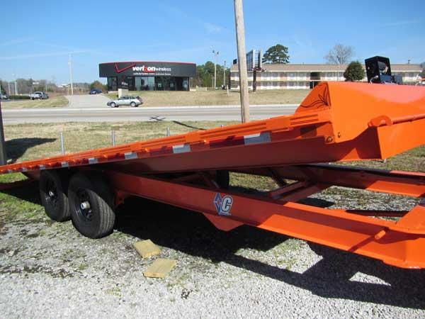 Diamond C 83 x 20 14K Full Tilt Equipment Trailer