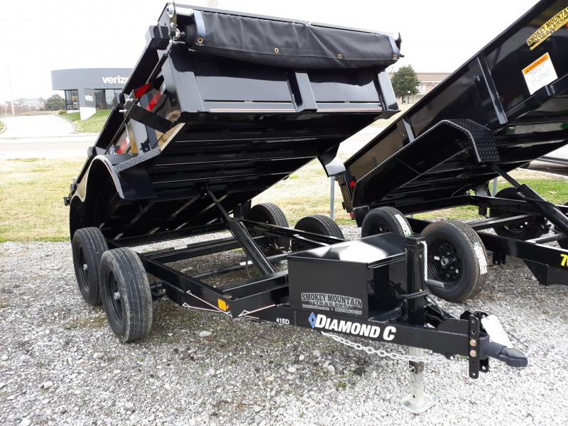 Diamond C 41ED 5 x 10 Dump Trailer in Ashburn, VA