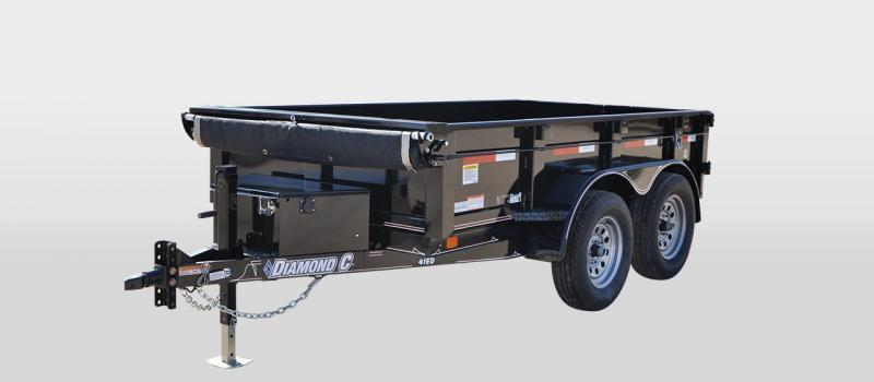 Diamond C 41ED 5 x 10 Dump Trailer