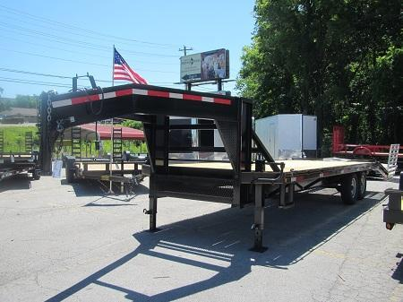 20 + 5 Gooseneck Equipment Trailer