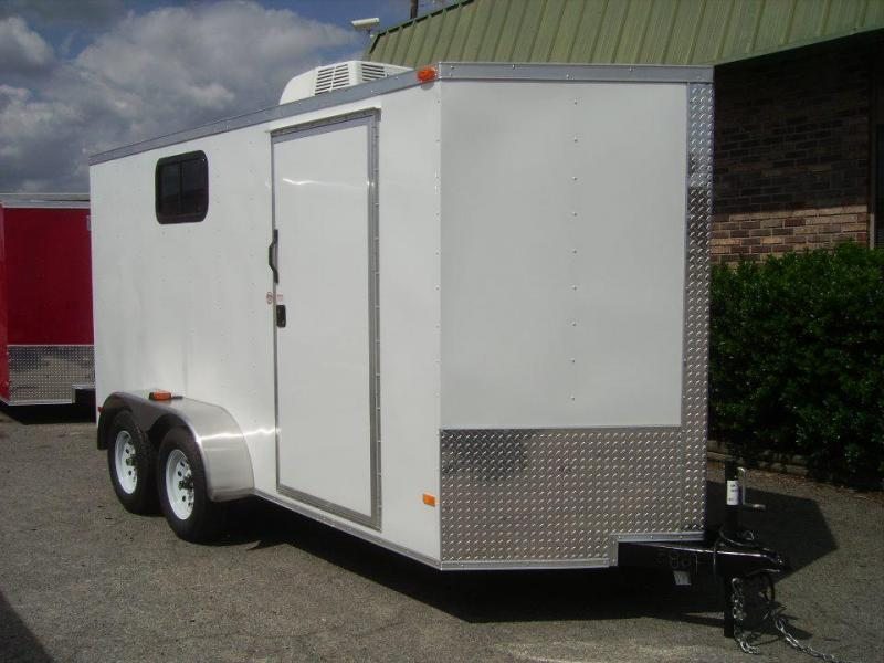 2018 Covered Wagon Trailers 6x12 TA2 Enclosed Cargo Trailer