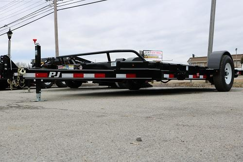 Smokey Mountain 16' Single Axle Tilt Trailer