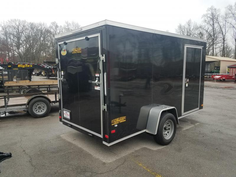 2019 Covered Wagon Trailers 6x12 Enclosed Cargo Trailer