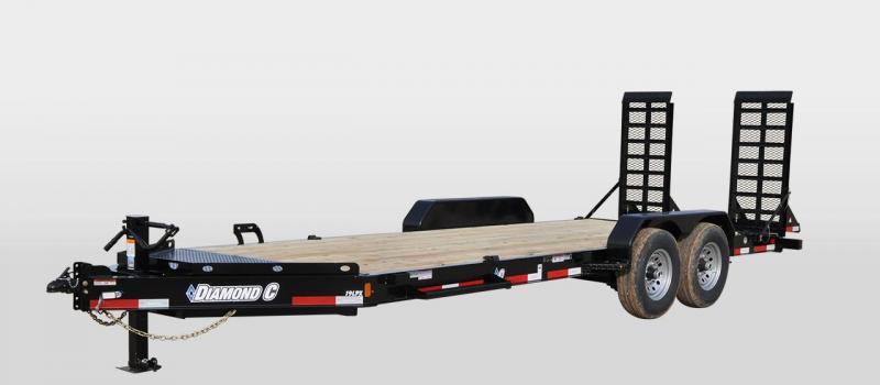 Diamond C 19LPX 82 x 20 14K Equipment Trailer