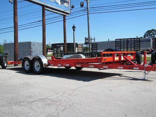 PJ 83x22 Tilt Equipment Trailer